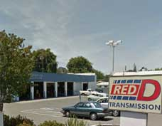 Picture of the Carmichael shop of Red D Transmission